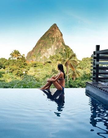 Infinity Pool, Boucan by Hotel Chocolat, St. Lucia